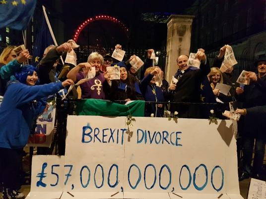 Brexit Divorce bill